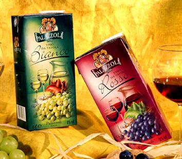 Tetra Pak Wein