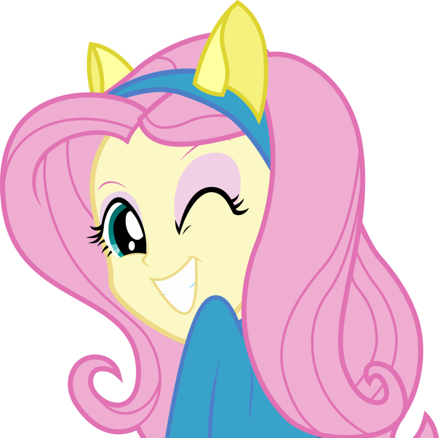 equestria girls   fluttershy by givralix
