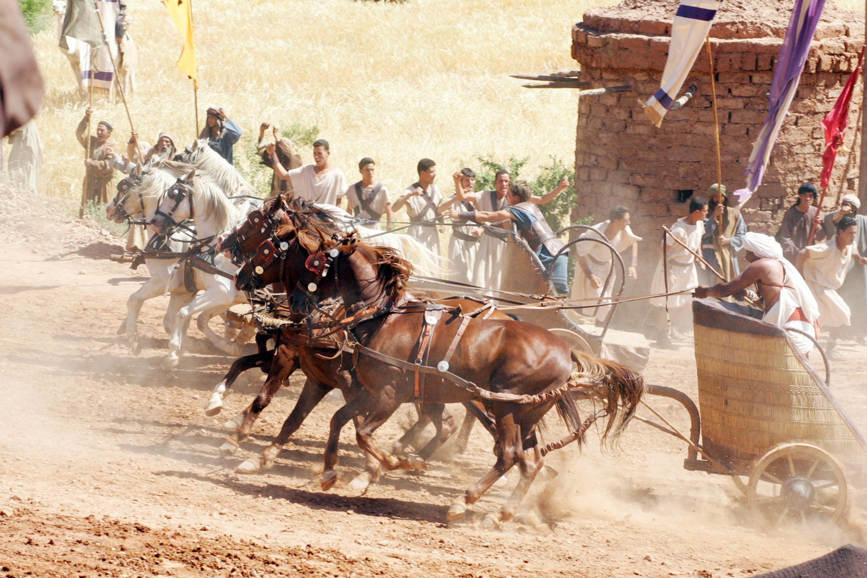 Wagenrennen Im Circus Maximus