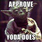 Mason's characters Tcde035_yoda_approves_by_megablystone-d5v1hk8
