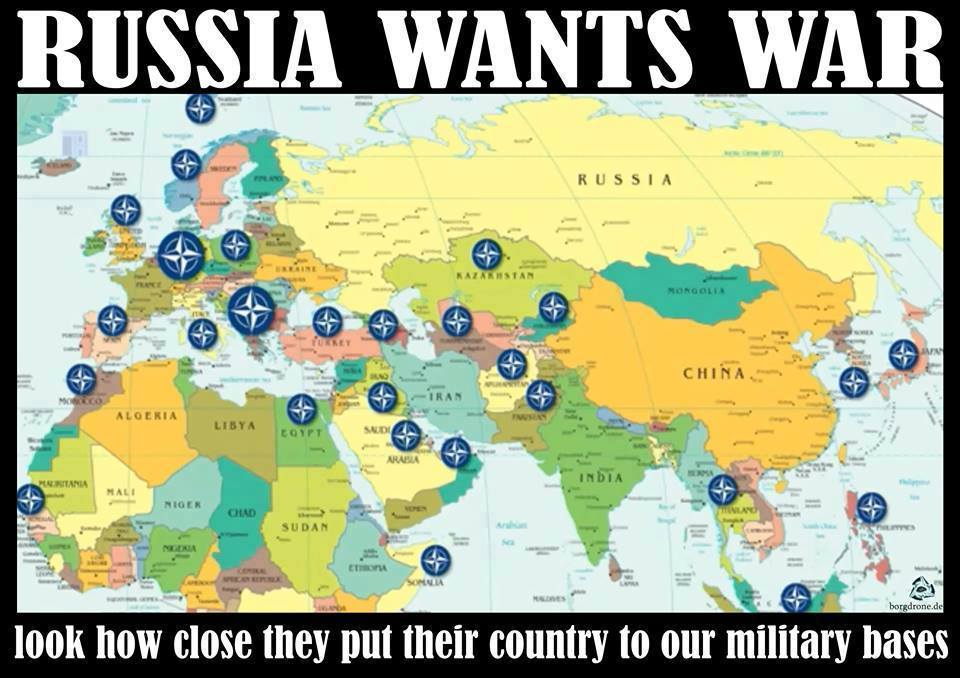 russia wants war look how closely they p
