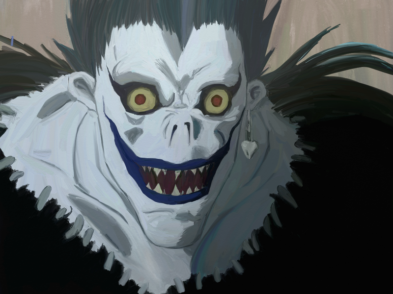 ryuk   artrage tryout by angeline b