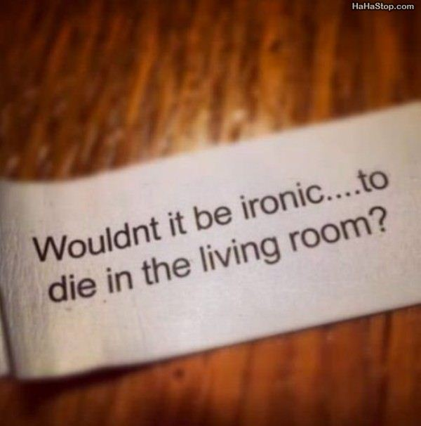 Would Be Ironic