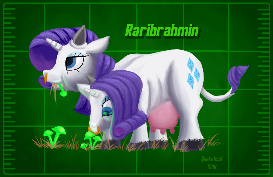 1040747 safe rarity cute crossover speci