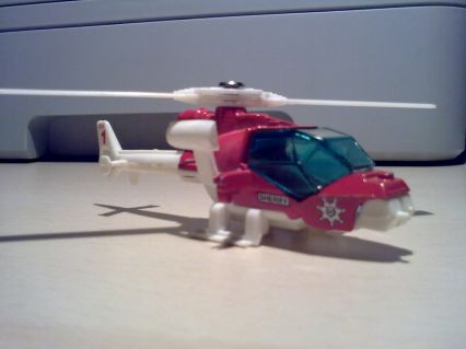 Matchbox  Blue Thunder Mission Helicopte