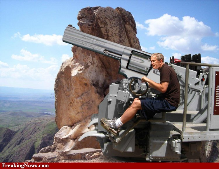 George-Bush-with-the-Big-Guns--34557