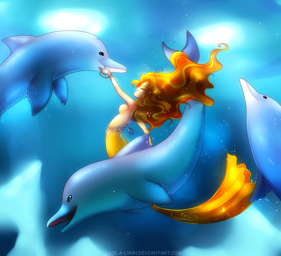 dance of the dolphins by jack a lynn-d8c