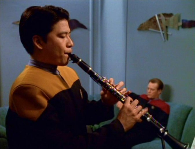 Harry Kim plays the clarinet The Thaw