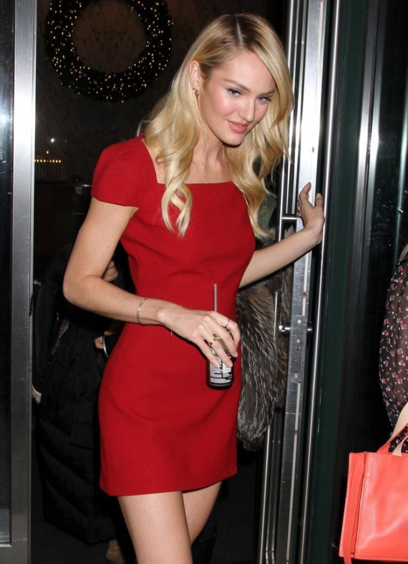 candice-swanepoel-in-short-red-dress-out