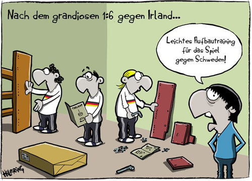 cartoon nationalmannschaft dfb schweden