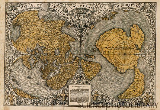 C0043859-Oronce Fine s world map 1531-SP