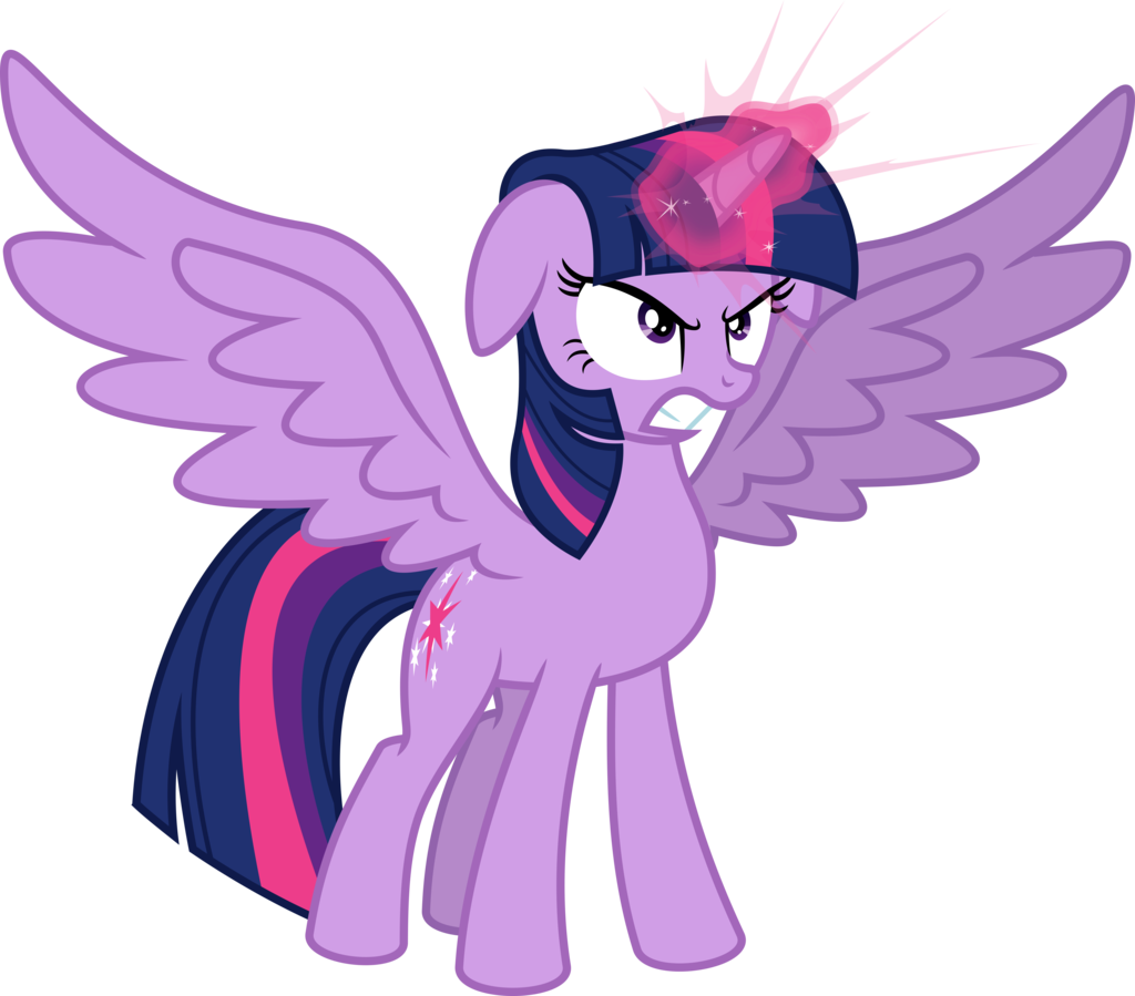 angry princess twilight by psychicwalnut