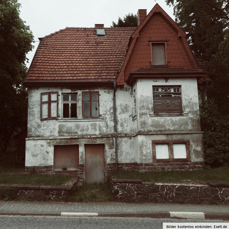 Lost Places Saarland Geocaching: Leerstehendes Wohnhaus In Uchtelfangen (Illingen, Saarland