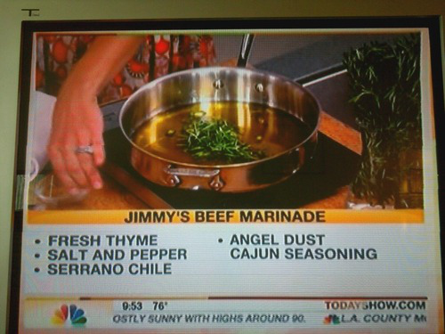 jimmy beef marinade