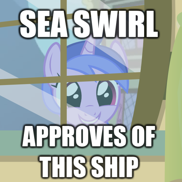 macro  sea swirl approves of this ship