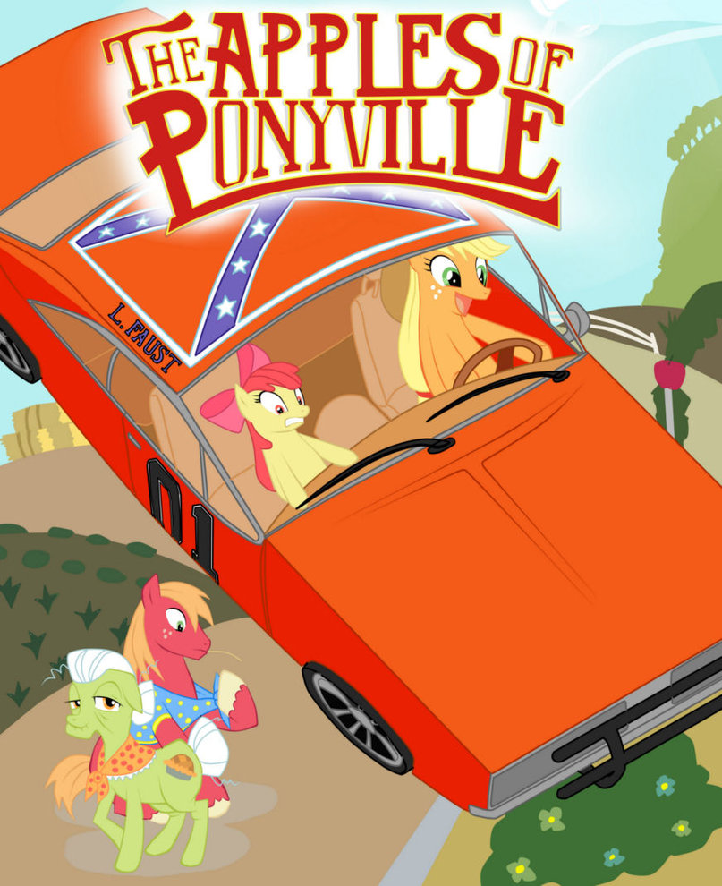 my little pony  the apples of ponyville