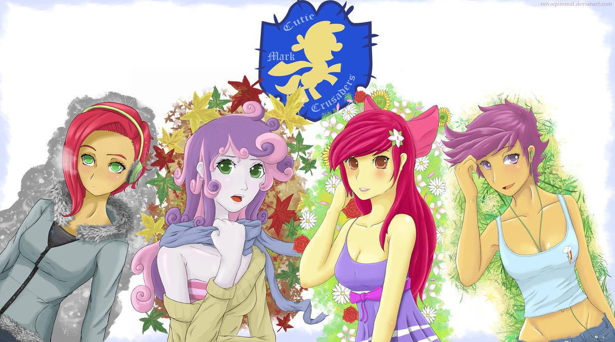 cutie mark crusaders seasons set by nova