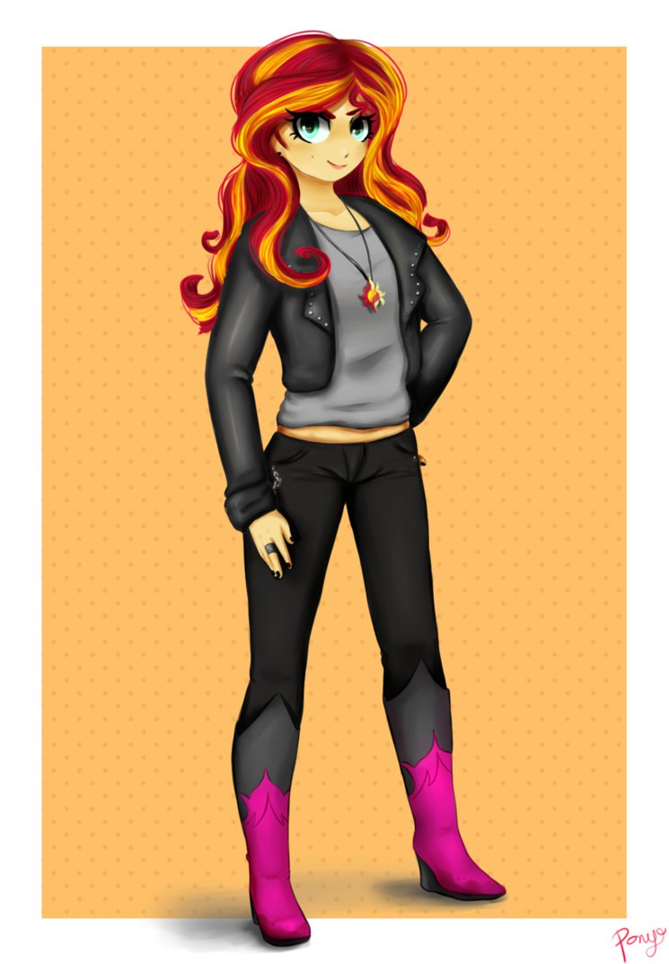sunset shimmer by cosmicponye-d7sk3pd