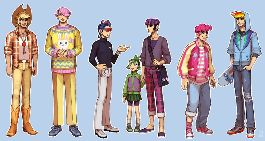 MLP-FiM-human-male-version-my-little-pon
