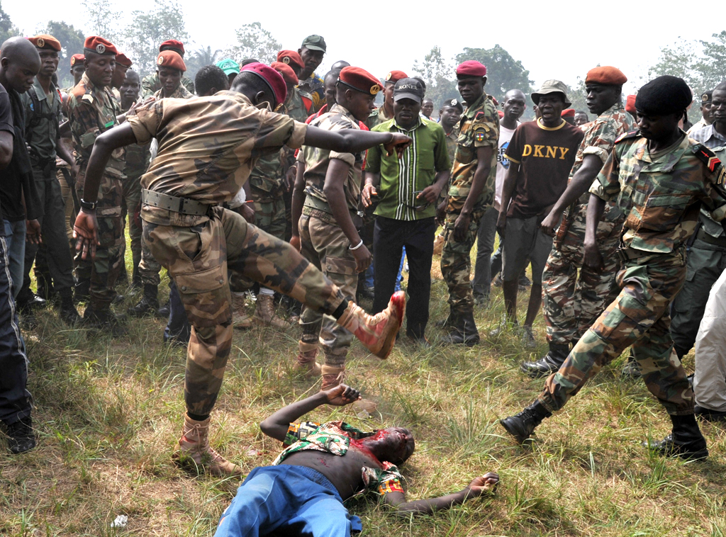 central african republic lynching photo