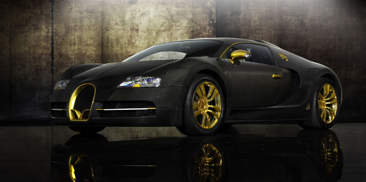 mansory bugatti veyron linea vincero doro autos post. Black Bedroom Furniture Sets. Home Design Ideas