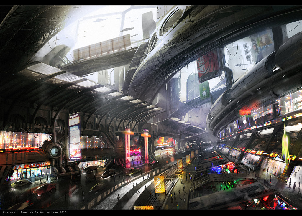 futuristic cities tutorial by neisbeis