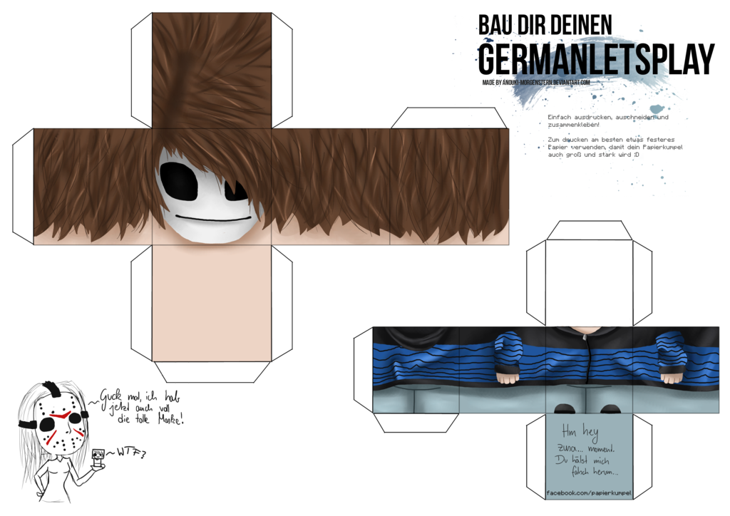 craft your germanletsplay  by anouki mor