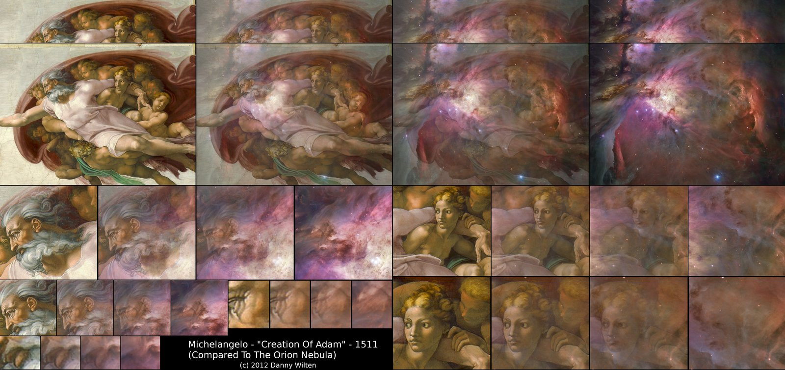 michelangelo    creation of adam  and or
