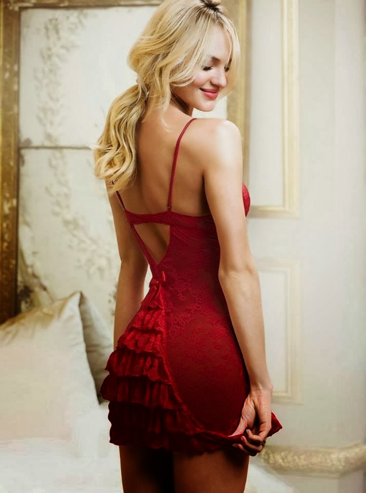 Candice Swanepoel for Victoria 27s Secre