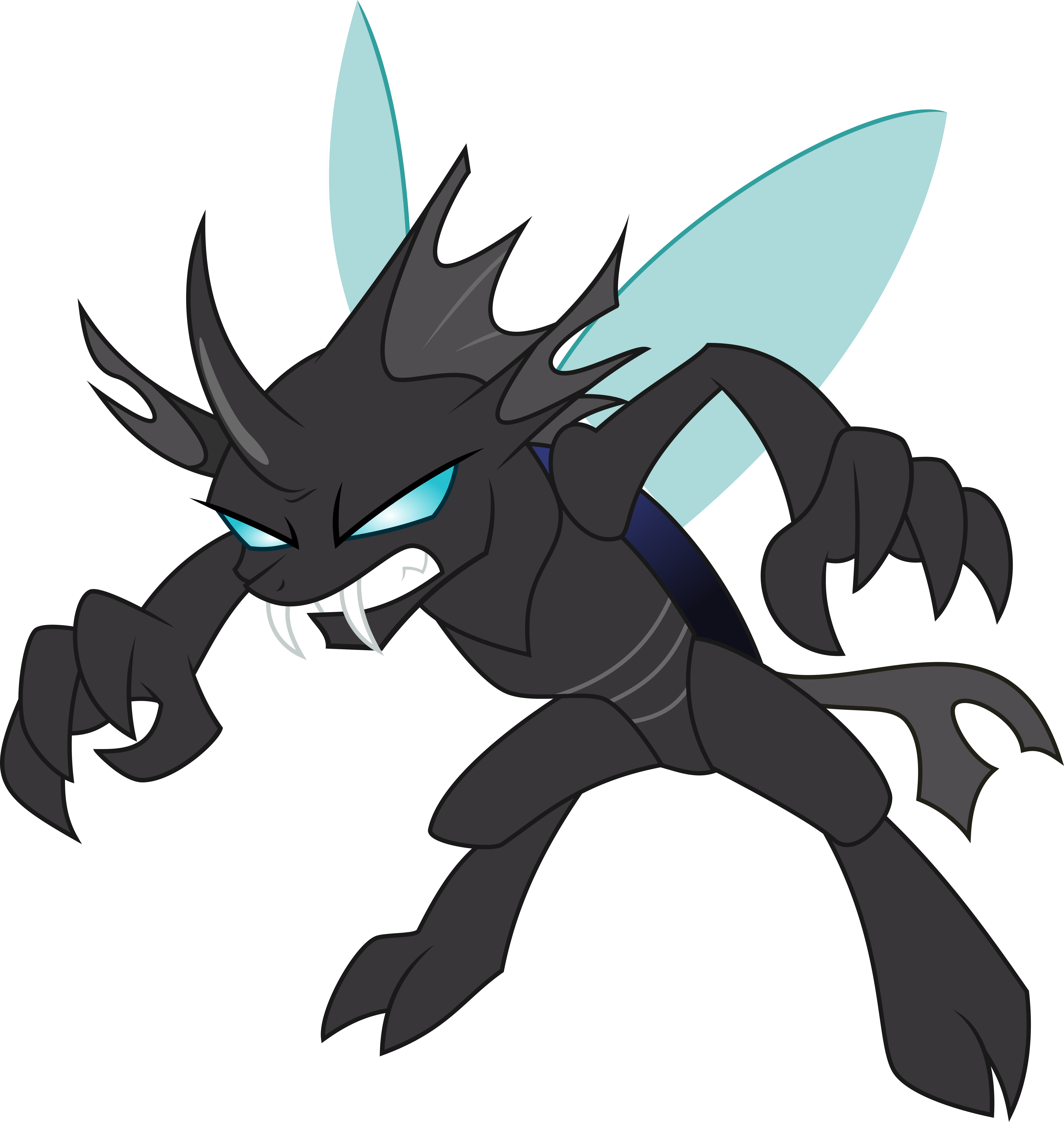 canter girls  changeling  vectorized  by