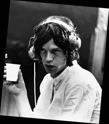 mick jagger no smile