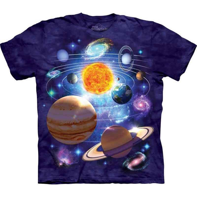 Planeten-T-Shirt-You-Are-Here
