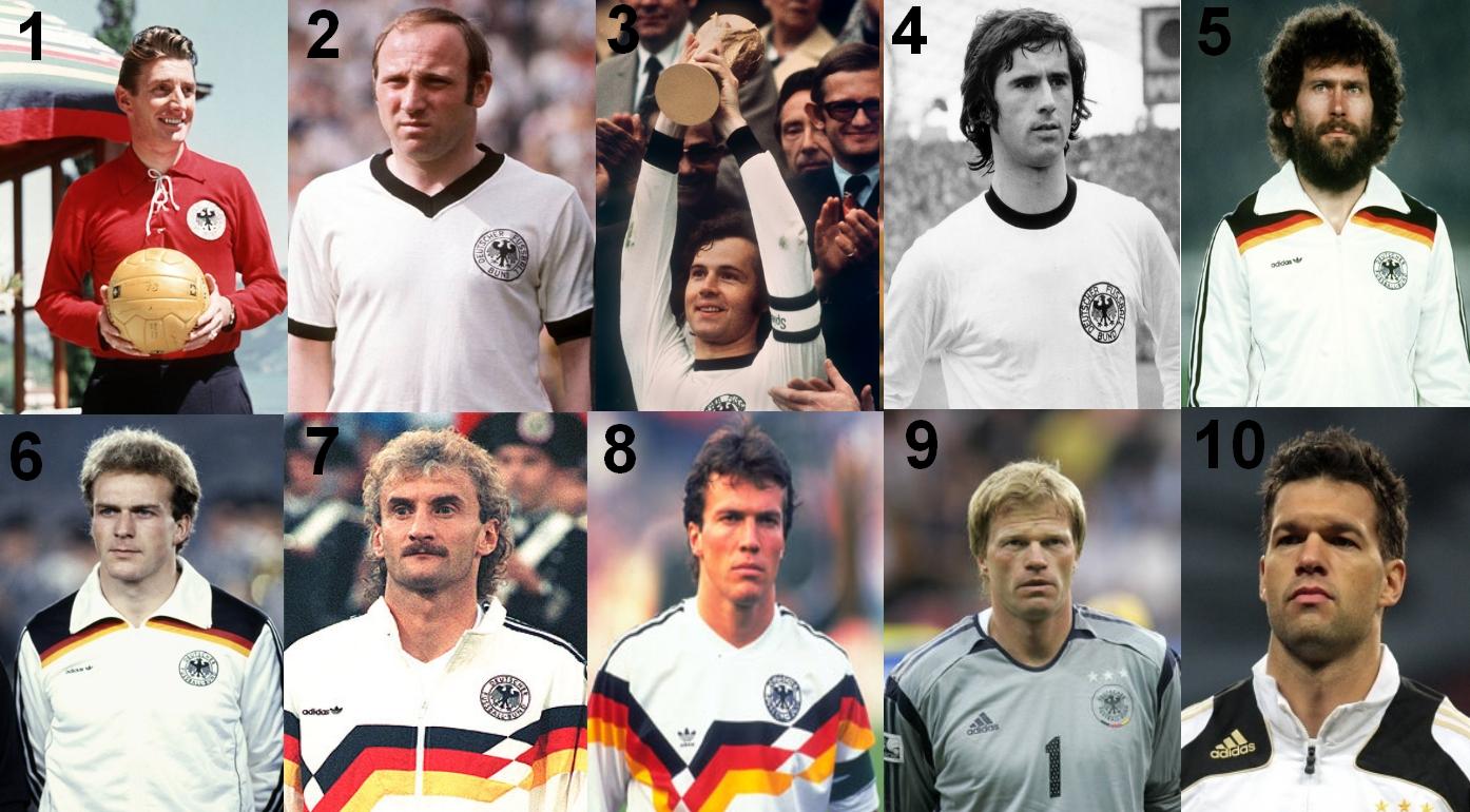 beste deutsche fußballer