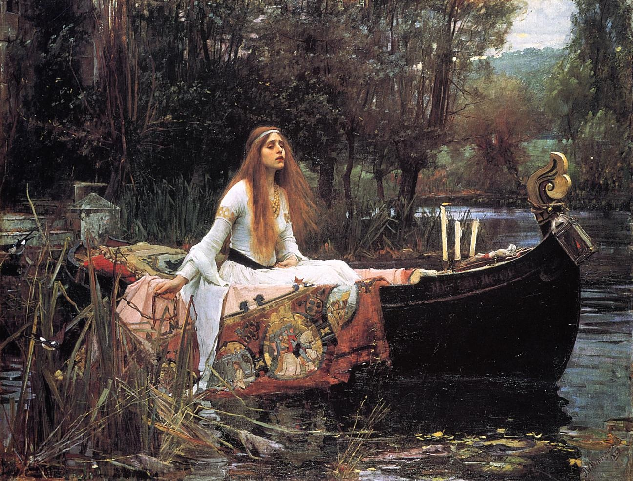 John William Waterhouse The Lady of Shal