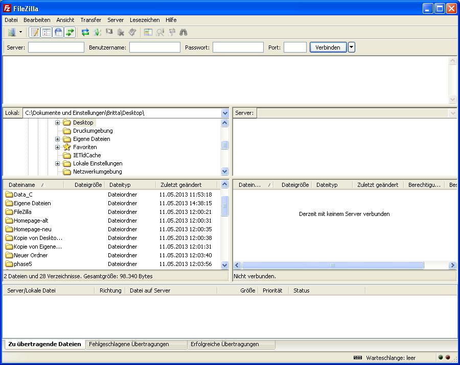 ff6d63 homepage filezilla