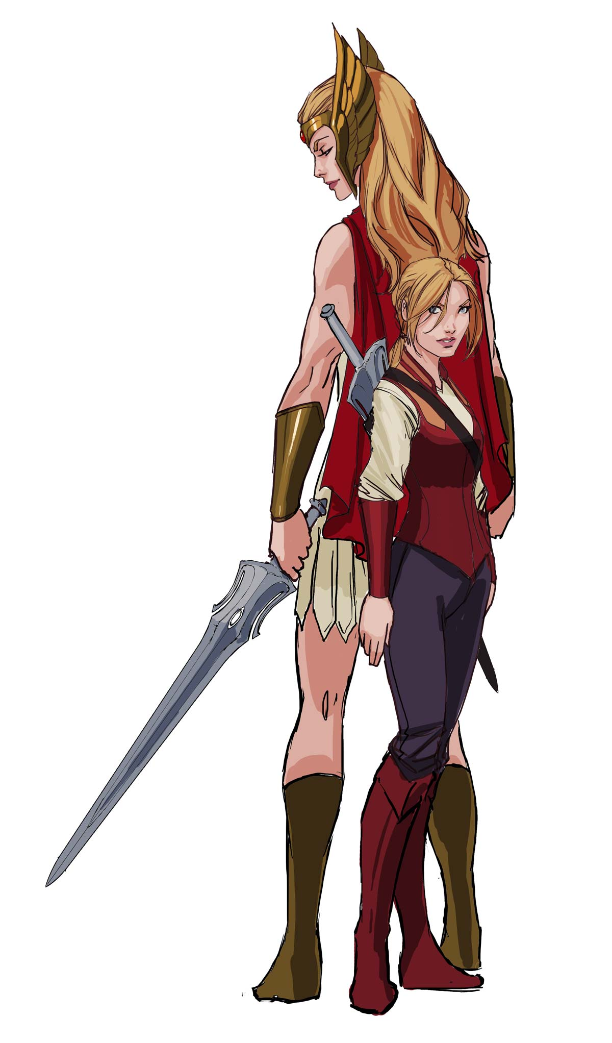adora and she ra   testing design and st
