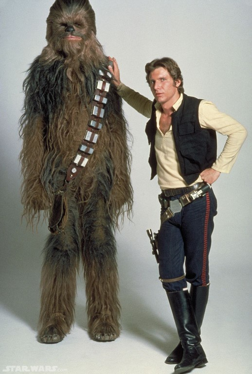 Episode 4 Han Solo and Chewbacca 1