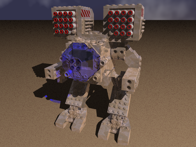 Lego Mad Cat OmniMech by MechWarriorsClu
