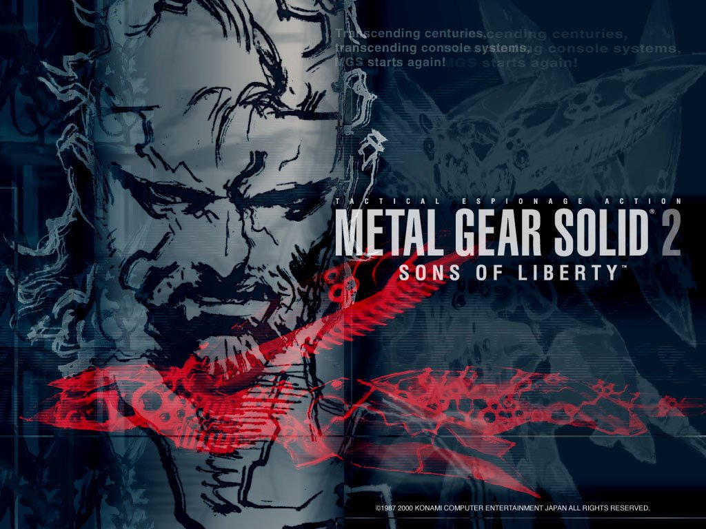 Metal Gear Solid 2 Sons of Liberty 23 PN