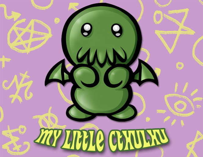 My Little Cthulhu by TheZebu