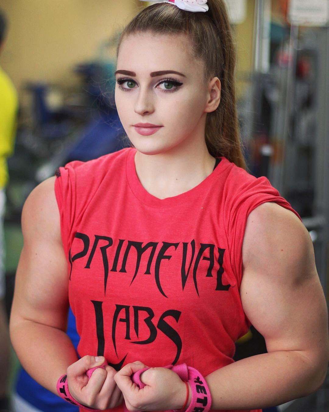 Gefallen euch muskulöse Frauen? (Seite 2) - Allmystery