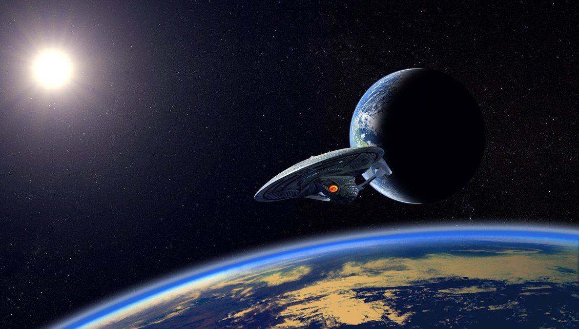 enterprise e dual planets by robby rober