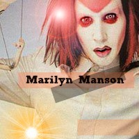 marilyn manson icon by caromanson-d5oinw