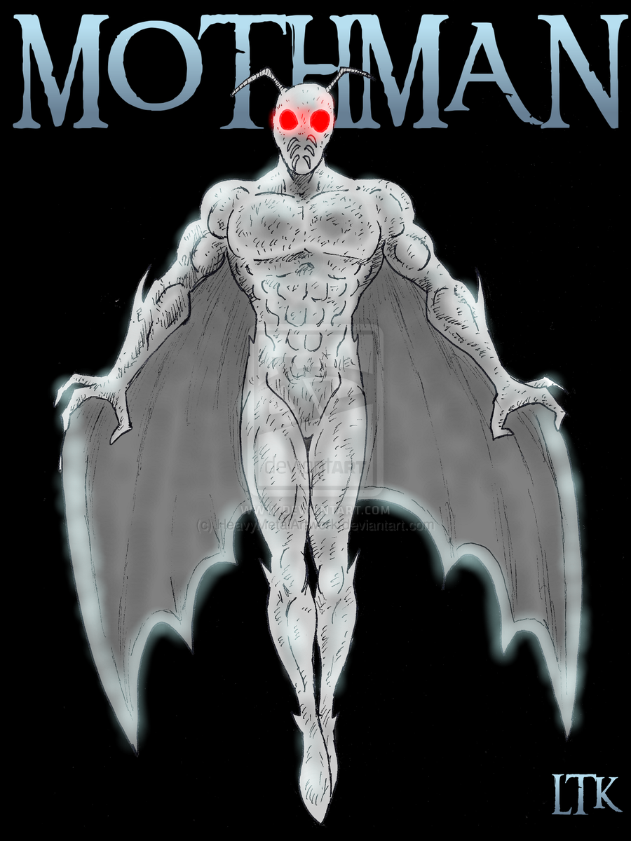 mothman   point pleasant legend by heavy