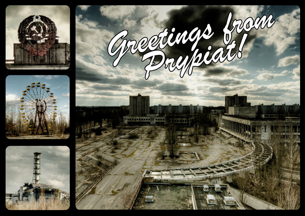 prypiat postcard