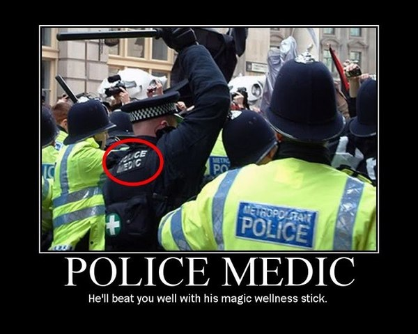 Police Medic - Hell Beat You Well With H