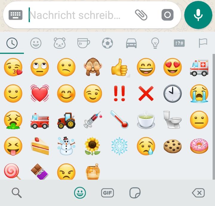 Whatsapp New Smileys