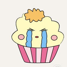2fa974da65c0 cupcakes-emoticon-set-colourful-cupcake-