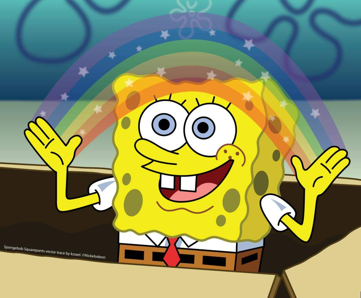 /dateien/vo54860,1246345100,Spongebob  Imagination by kssael