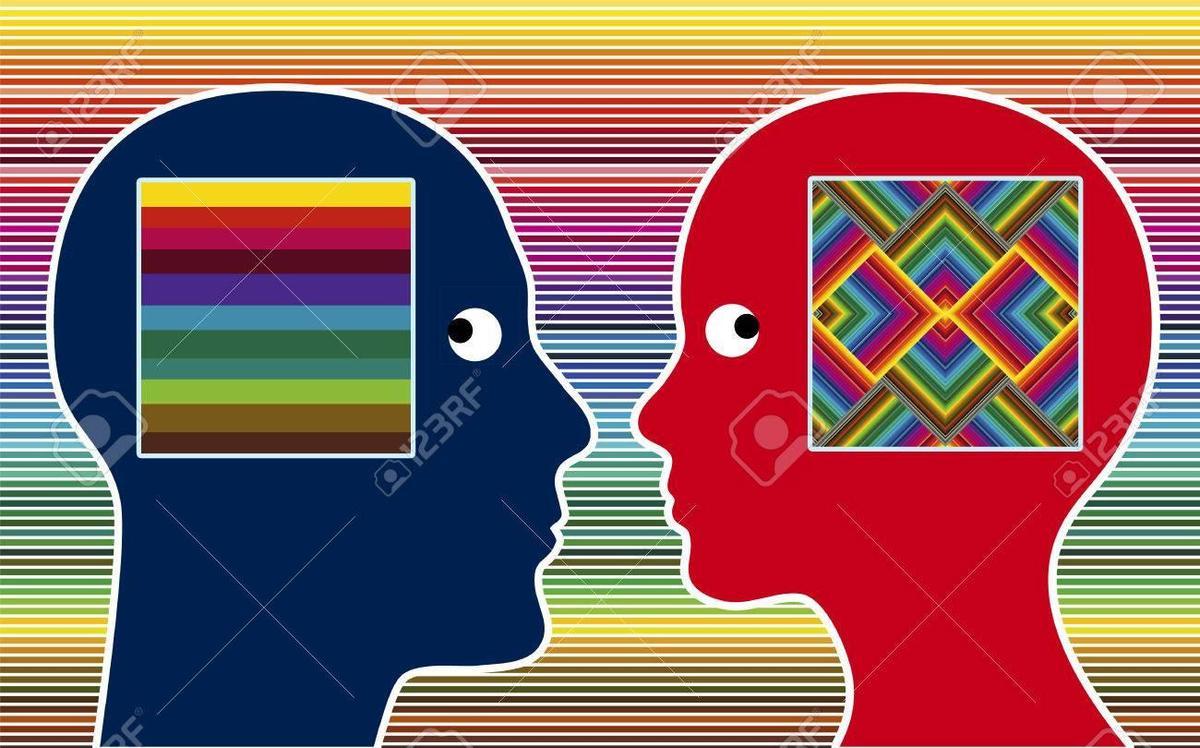 Farbwahrnehmung Mann Frau